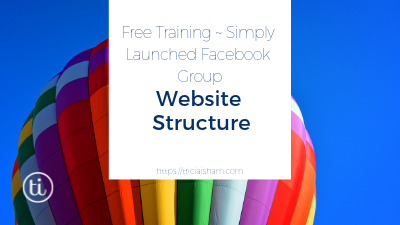 Planning Your Website ~ Website Structure