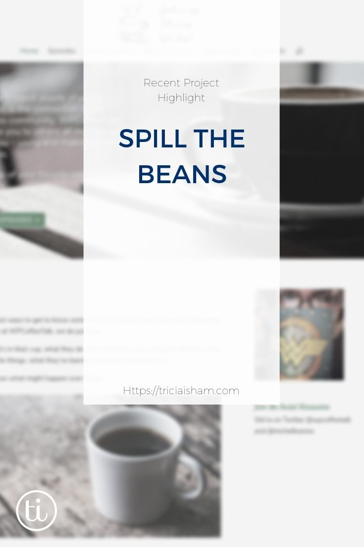Post image of blurred screenshot of the WPCoffeeTalk website with post title overlayed