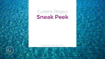 Current Project Sneak Peak