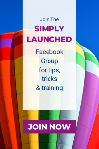 Join the Simply Launched Facebook Group