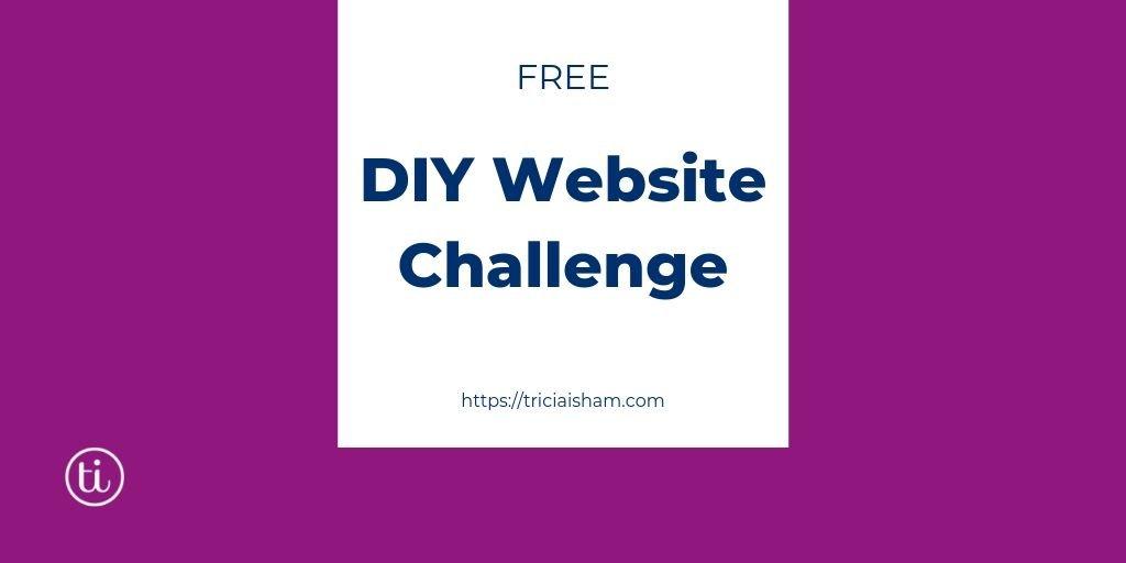 Free DIY Website Challenge