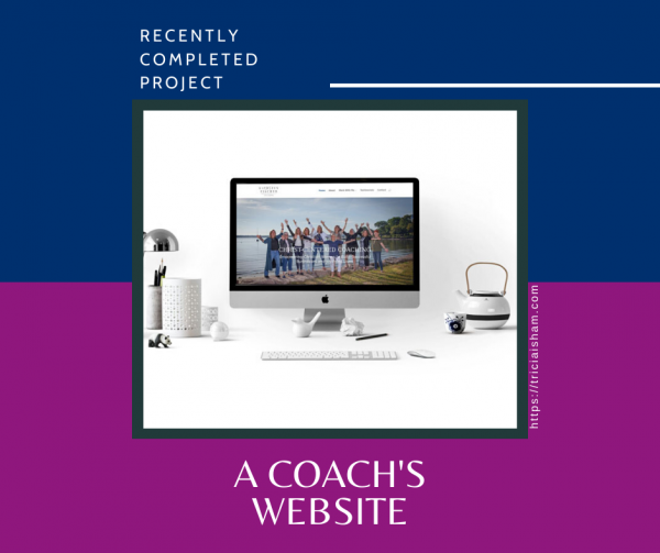 Cover photo for Kathleen Fischer Coaching website project