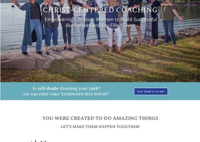Business and Life Coach Website