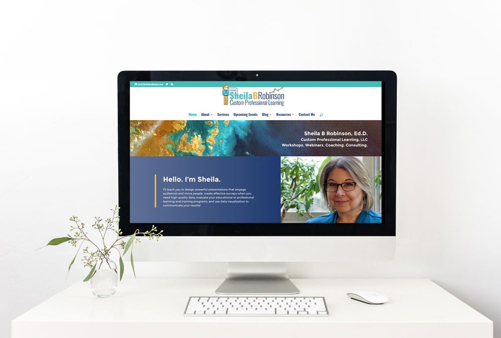 Recent Project Showcase – Redesigned Consultant Website