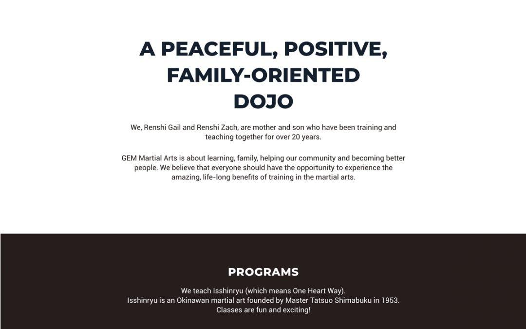 Dojo Website