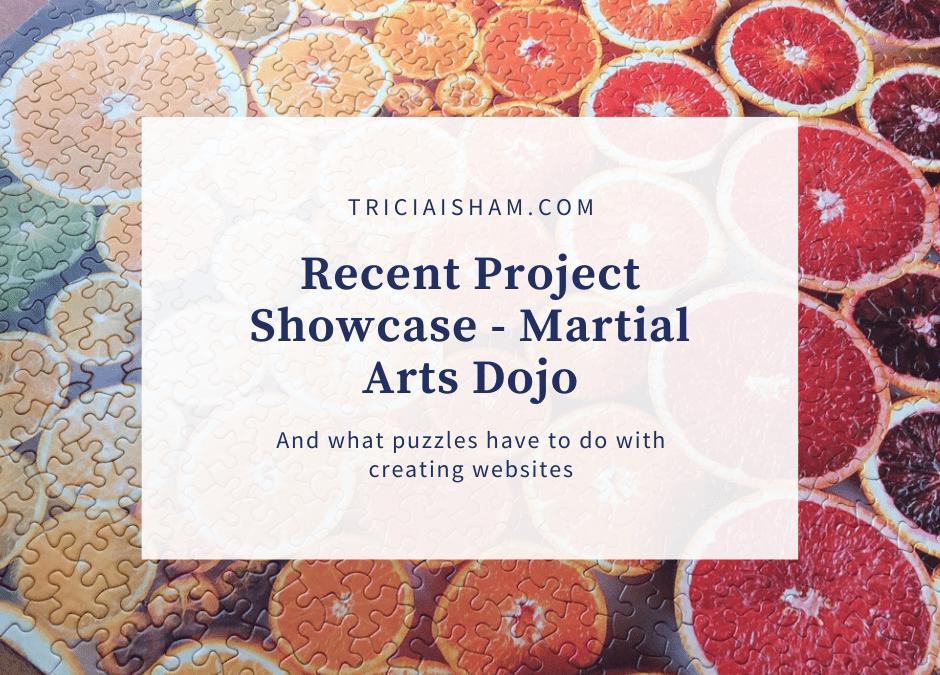 Recent Project Showcase: Martial Arts Website