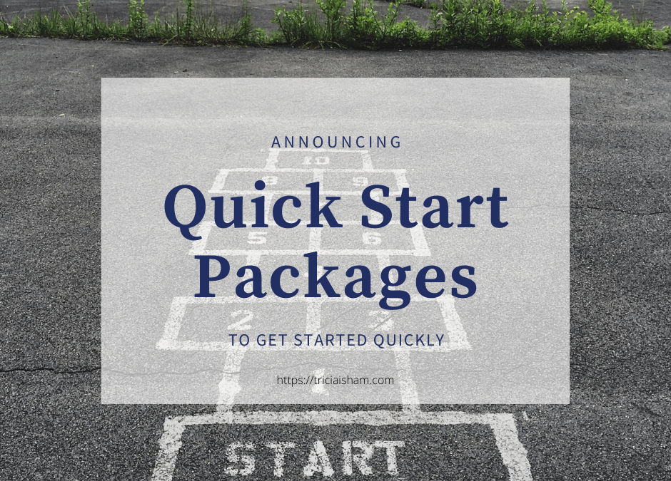 Quick Start Packages to Get Started with a Website Quickly