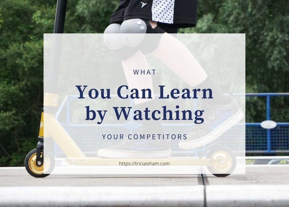 What you can learn by watching