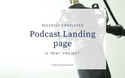 Recently Completed Podcast Landing Page