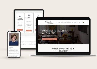 Curriculum Consultant Website Project