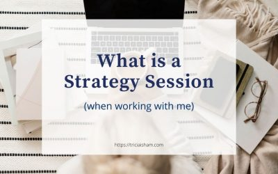 What is a Strategy Session?