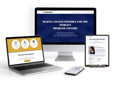 Evaluation Consultant Website