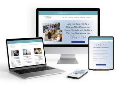 A Business Coach's Website